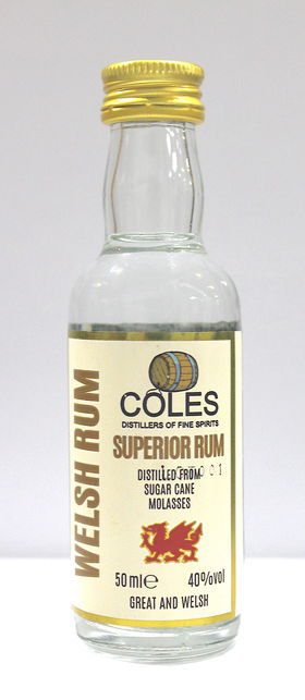 Image: Coles Welsh Rum 5cl